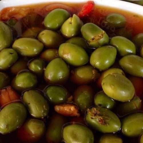 Aceitunas gallegas aliñadas Eidos de Iria