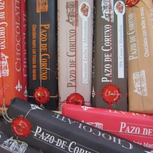 Chocolates artesanales Pazo de Coruxo