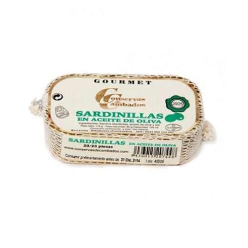 Sardinillas en aceite de oliva Conservas Cambados